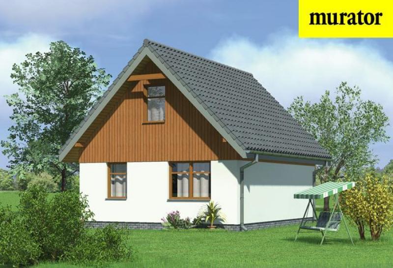 Проект одноэтажного дома с мансардой - муратор мл03 rpm1980 .